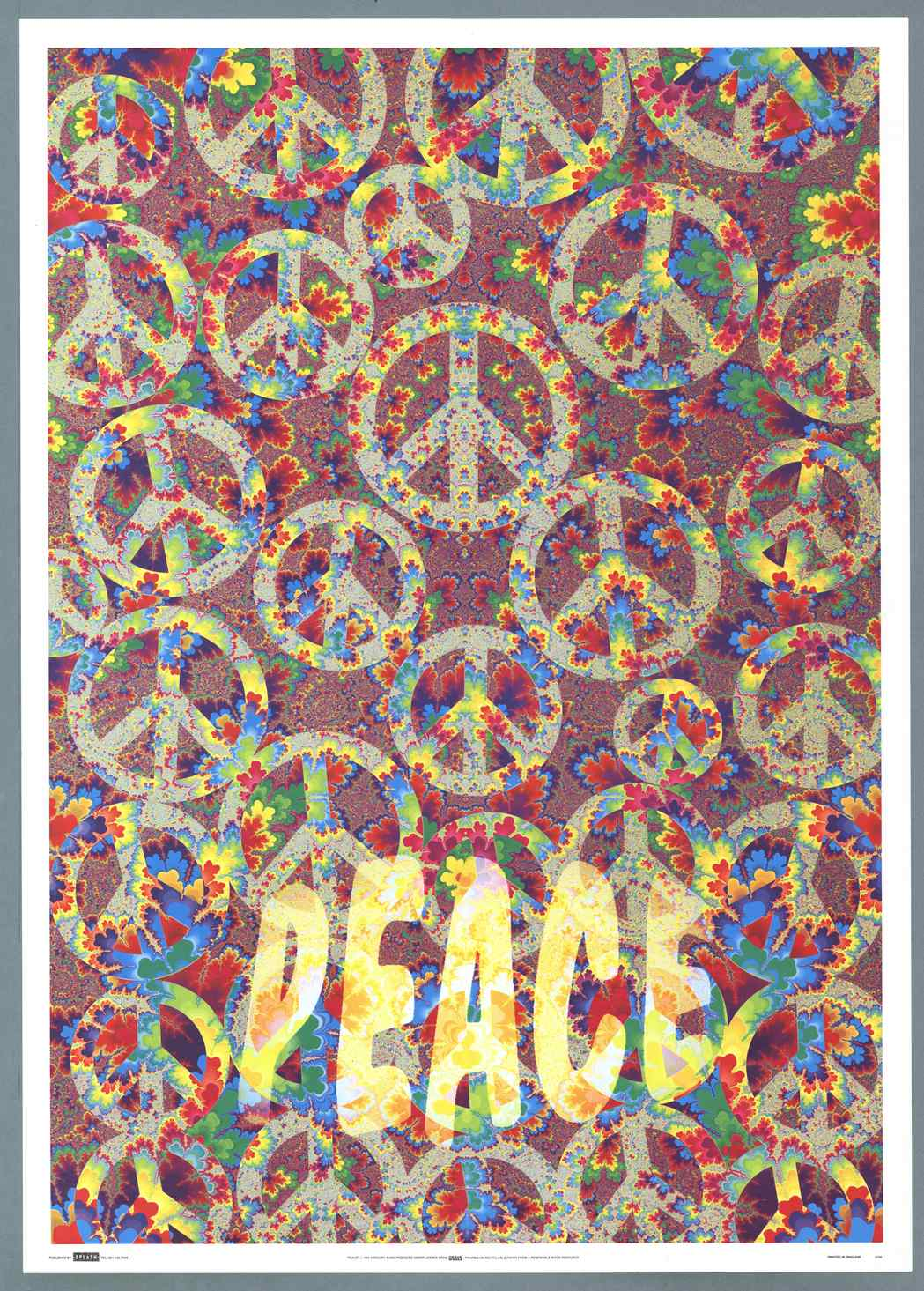 IISH Collections | Poster | Peace | Poster by Gregory Sams (1994)