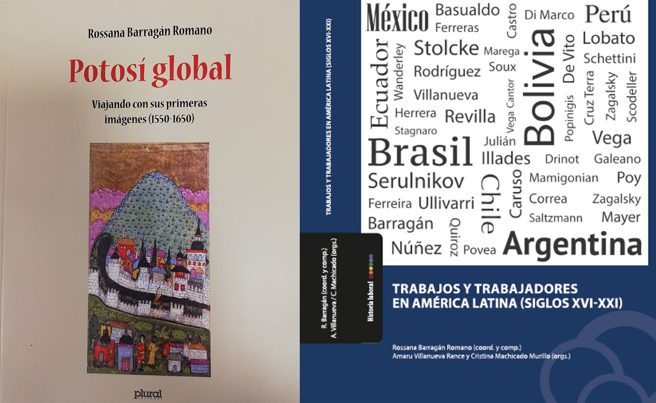 New publications by Rossanna Barragan