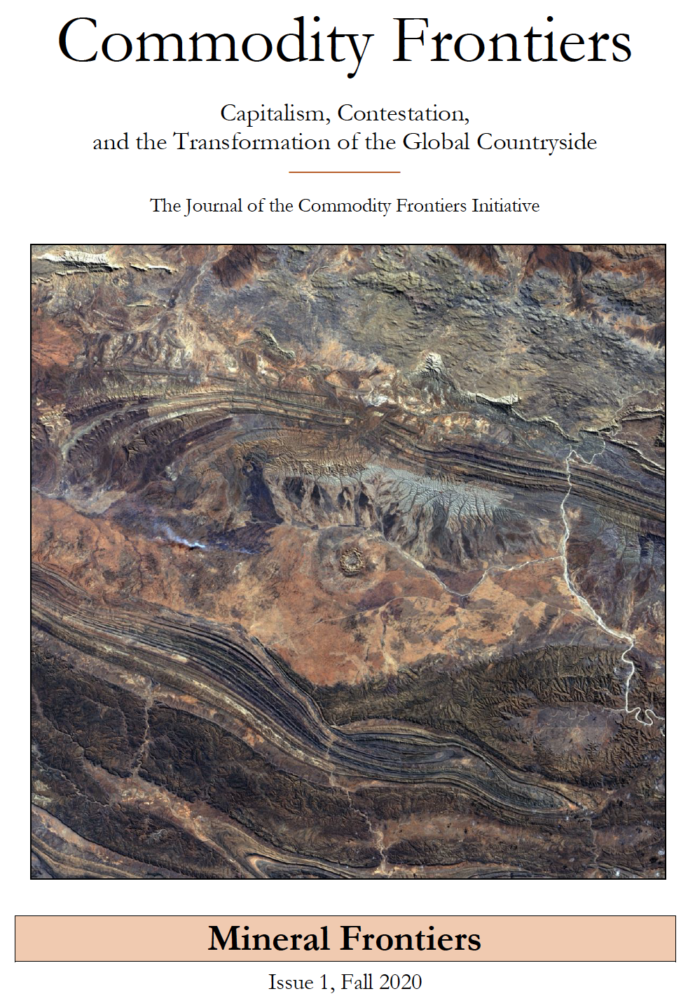 Commodity Frontiers title page