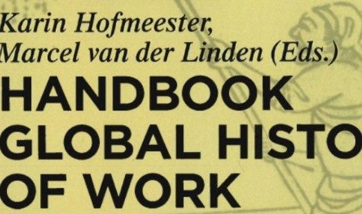 Handbook Global History of Work | Photo by De Gruyter Publishers