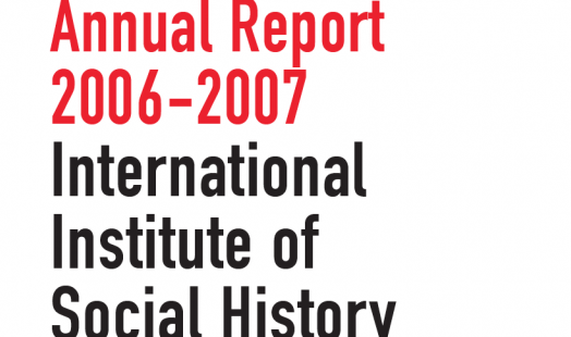 IISH Annual Report 2006 and 2007