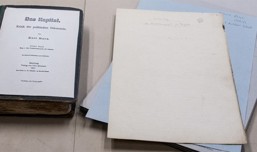IISH Collections | Highlights | Karl Marx copy of Das Kapital - In IISH Collection