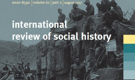 IISH | IRSH | Volume 62 - Part 2 - August 2017 | IISH / Cambridge Press
