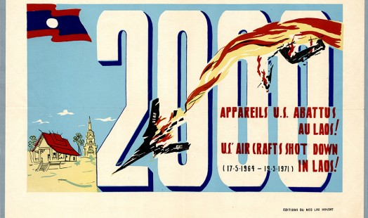 IISH Collections | Blog | 2.000 planes shot down Laos Poster | Photo by IISH