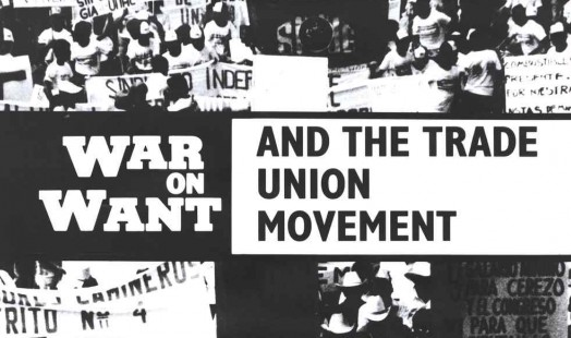 IISH Collections | Poster | War on Want and the trade union movement uniting against poverty | Poster by Marrtin J. Walker (1988)